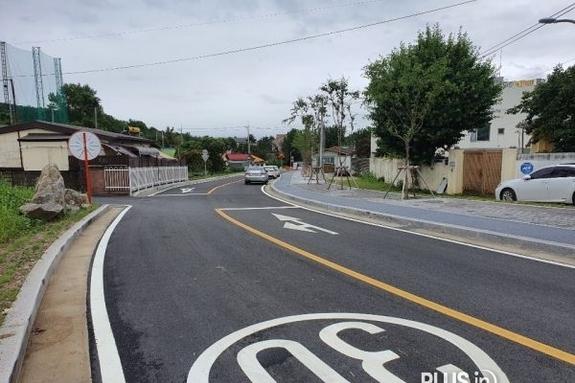 용인시 양지성당 뒷길 등 남곡리 2개 도시계획도로 개통