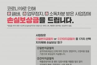 성남시 '코로나19' 방역 조치 영업장에 손실보상금 10만원 지급