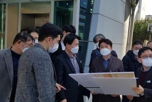 한국개발연구원 실무진 지하철 8호선 판교연장사업 현장 실사